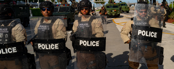 Do We Really Want the Military Policing Our Cities?