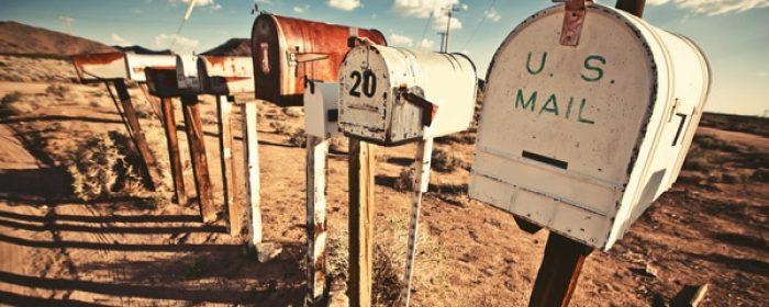 Mind the Snail Mail!